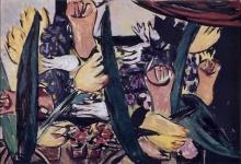 Max Beckmann, Nella serra   Im Treibhaus