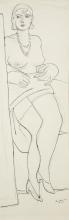 Max Beckmann, Nudo femminile | Weiblicher Akt