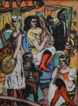 Max Beckmann, Orchestra femminile | Damenkapelle