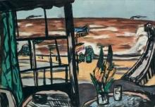 Max Beckmann, Ostenda nella tempesta - Mare a Ostenda | Ostende im Sturm - Meer bei Ostende