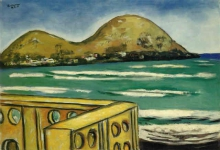 Max Beckmann, Paesaggio a Saint-Cyr-sur-Mer | Landschaft bei Saint-Cyr-sur-Mer