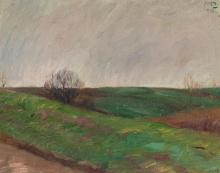 Max Beckmann, Paesaggio con prati | Wiesenlandschaft