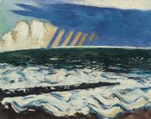 Max Beckmann, Paesaggio del Mare del Nord I (Tempesta) | Nordseelandschaft I (Gewitter) | North Sea I (Thunderstorm)