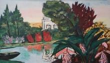 Max Beckmann, Parco Bagatelle | Park Bagatelle