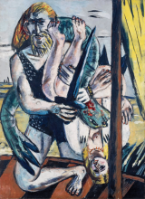 Max Beckmann, Perseo [pannello centrale]