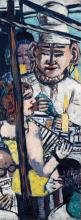 Max Beckmann, Perseo [pannello di sinistra]