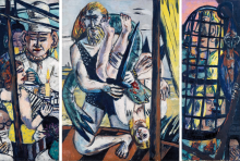 Max Beckmann, Perseo (Trittico) | Perseus (Triptychon) | Perseus (Tryptich)