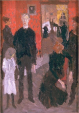 Max Beckmann, Piccola scena di morte | Kleine Sterbeszene