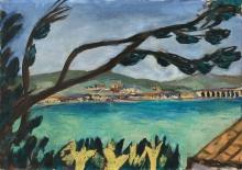 Max Beckmann, Piccolo paesaggio da Bandol | Kleine Landschaft aus Bandol