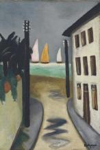 Max Beckmann, Piccolo paesaggio, Viareggio | Kleine Landschaft, Viareggio