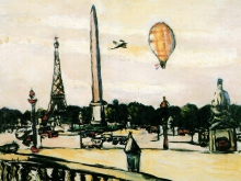 Max Beckmann, Place de la Concorde di giorno | Place de la Concorde bei Tag | Place de la Concorde by day