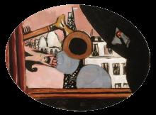 Max Beckmann, Rêve de Paris Colette