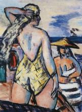 Max Beckmann, Ragazze in riva al mare | Mädchen am Meer