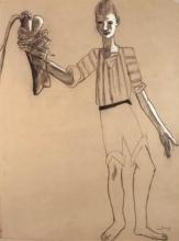 Max Beckmann, Ragazzo con aragosta
