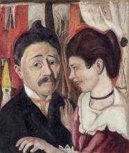 Max Beckmann, Ritratto dei coniugi Carl | Bildnis Ehepaar Carl | Portrait of Carl couple