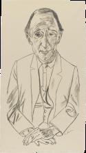 Max Beckmann, Ritratto del compositore Frederik Delius | Bildnis des Komponisten Frederik Delius