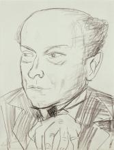 Max Beckmann, Ritratto del dottor Gottlieb Friedrich Reber | Bildnis Doktor Gottlieb Friedrich Reber