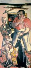 Max Beckmann, Ritratto della famiglia George | Familienbild George