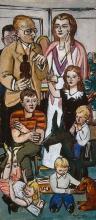 Max Beckmann, Ritratto della famiglia Hope | Hope family poryrait