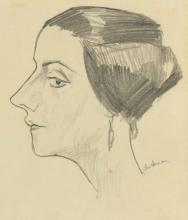 Max Beckmann, Ritratto della signora Marie Swarzenski | Porträt von Frau Marie Swarzenski