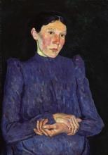 Max Beckmann, Ritratto della signora Pagel | Bildnis Frau Pagel