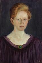 Max Beckmann, Ritratto della sorella | Bildnis der Schwester