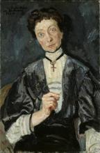 Max Beckmann, Ritratto di Augusta Gräfin vom Hagen | Bildnis Augusta Gräfin vom Hagen