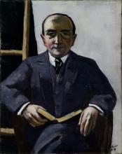 Max Beckmann, Ritratto di Curt Glaser | Portrait of Curt Glaser