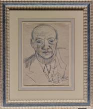 Max Beckmann, Ritratto di Curt Valentin | Bildnis Curt Valentin | Portrait of Curt Valentin