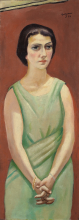 Max Beckmann, Ritratto di Elsbeth Goetz | Bildnis Elsbet Götz