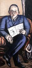 Max Beckmann, Ritratto di Erhard Göpel | Bildnis Erhard Göpel