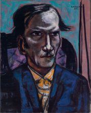 Max Beckmann, Ritratto di Fred Conway | Portrait of Fred Conway