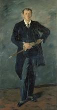 Max Beckmann, Ritratto di Hanns Rabe | Bildnis Hanns Rabe