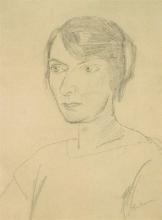 Max Beckmann, Ritratto di Irma Simon   Bildnis Irma Simon   Portrait of Irma Simon