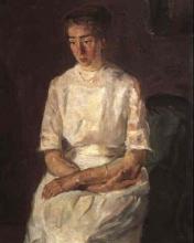Max Beckmann, Ritratto di Jeanne Kaumann   Bildnis Jeanne Kaumann   Portrait of Jeanne Kaumann