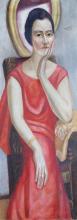 Max Beckmann, Ritratto di Käthe von Porada | Bildnis Käthe von Porada