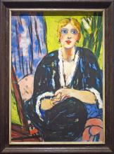 Max Beckmann, Ritratto di Lilly von Schnitzler   Porträt Lilly von Schnitzler