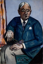 Max Beckmann, Ritratto di Ludwig Berger | Porträt Ludwig Berger | Portrait of Ludwig Berger