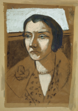 Max Beckmann, Ritratto di Marie Swarzenski | Bildnis Marie Swarzenski