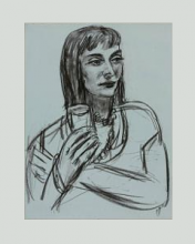 Max Beckmann, Ritratto di Marion Greenwood | Portrait of Marion Greenwood