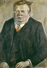 Max Beckmann, Ritratto di Max Reger   Bildnis Max Reger   Portrait de Max Reger