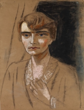 Max Beckmann, Ritratto di Naila   Porträt Naïla   Portrait of Naila [1923 circa]