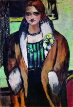 Max Beckmann, Ritratto di Naila | Bildnis Naïla | Portrait of Naila [1934]