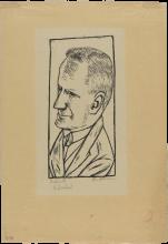 Max Beckmann, Ritratto di Reinhard Piper | Bildnis Reinhard Piper