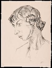 Max Beckmann, Ritratto di donna | Frauenporträt [1914]
