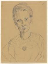 Max Beckmann, Ritratto di donna | Porträt einer Frau | Portrait of a woman [1915 circa]