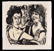 Max Beckmann, Ritratto di gruppo all'Edenbar