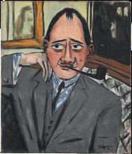 Max Beckmann, Ritratto di un francese | Bildnis eines Franzosen | Portrait d'un Français