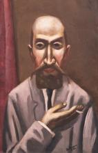 Max Beckmann, Ritratto di un turco | Bildnis eines Türken | Portrait of a Turk