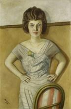 Max Beckmann, Ritratto di una donna rumena (Ritratto della signora Heidel) |  Bildnis einer Rumänin (Bildnis Frau Dr. Heidel)